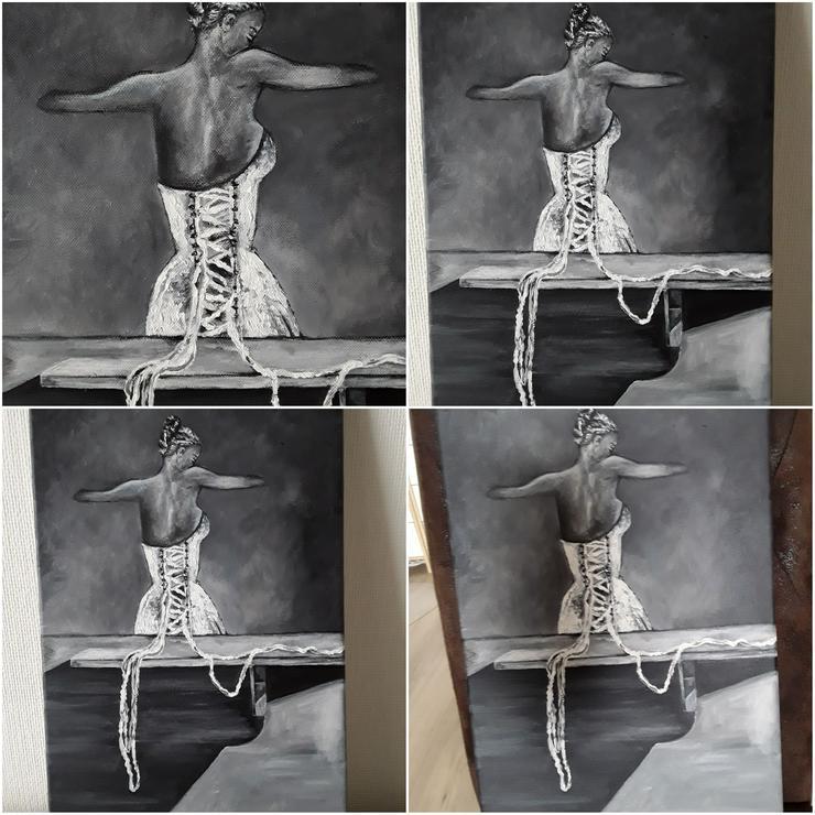 Acrylbild auf Leinwand  50 x 30 cm - Gemälde & Zeichnungen - Bild 1