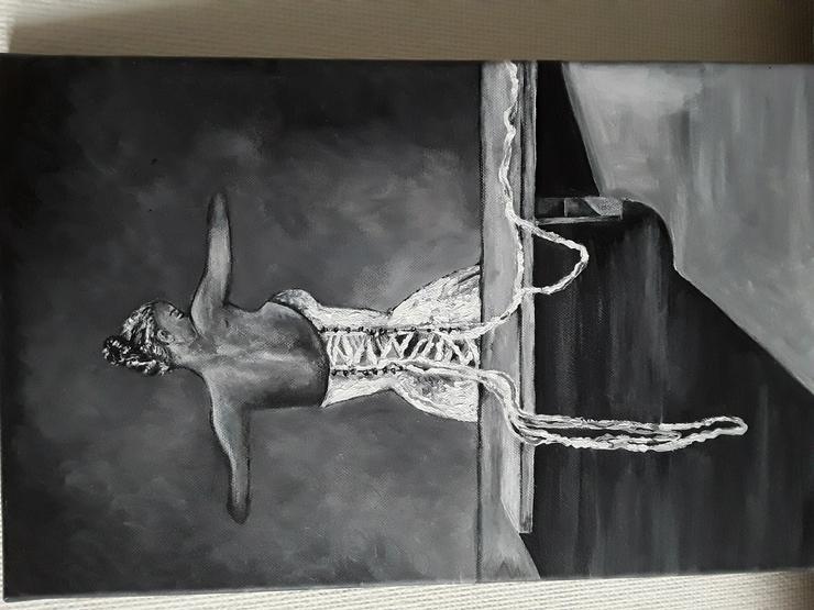Bild 2: Acrylbild auf Leinwand  50 x 30 cm