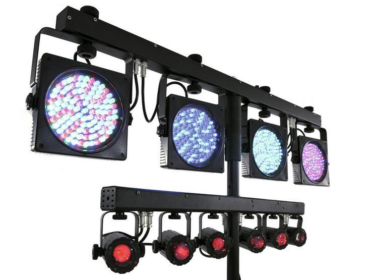 Bild 4: Verleih Eurolite KLS-Kombo Pack 1 LED - Lichtanlage I Partylicht
