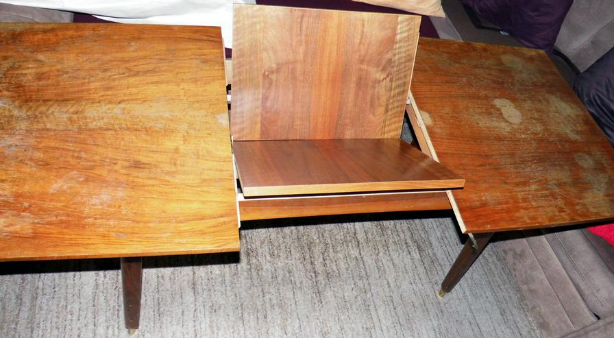 Wohnzimmer Hubtisch ausziehbar höhenverstellbar - sehr gut erhalten  - volle Funktion