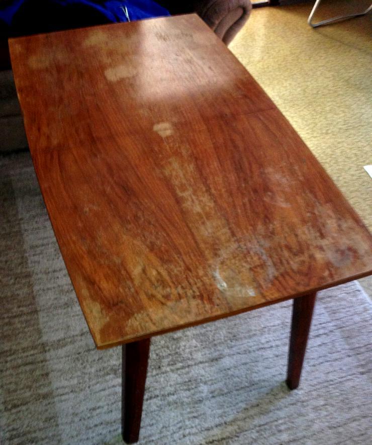 Wohnzimmer Hubtisch ausziehbar sehr gut erhalten volle Funktionen