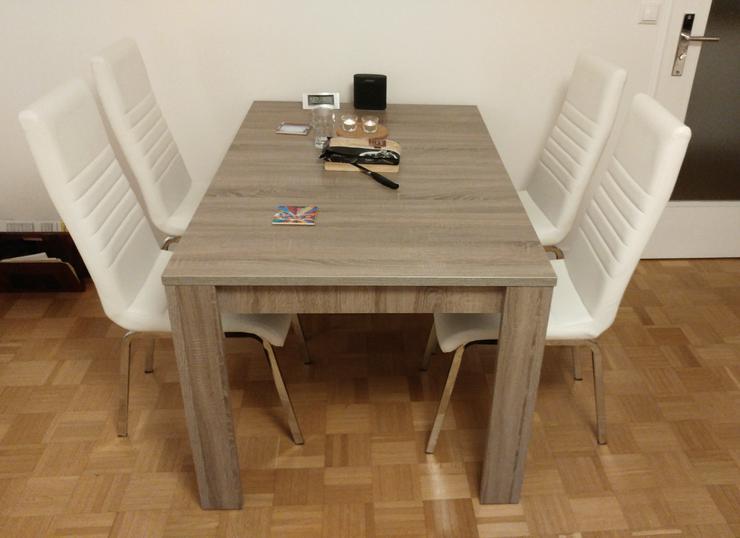 Stabiler Esstisch, ausziehbar, 140x90