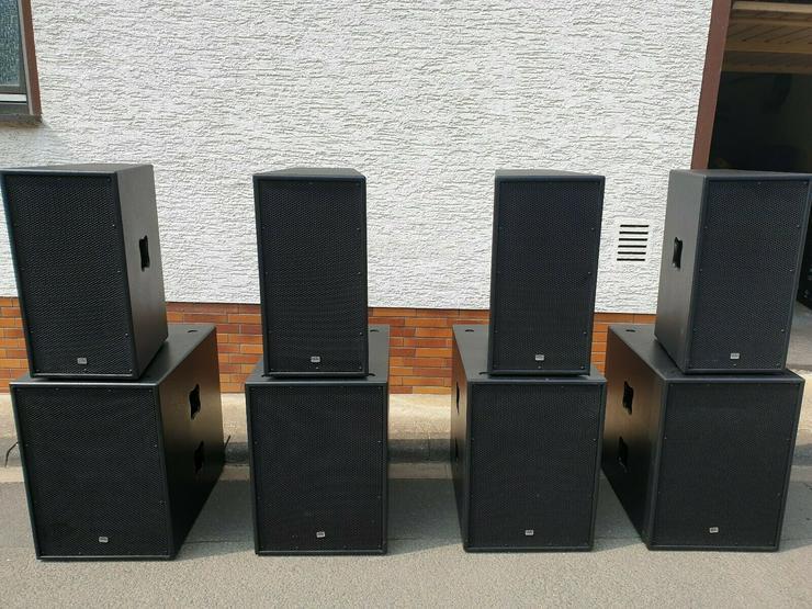 DAB Audio mit 3600 Watt RMS Aktive PA Anlage