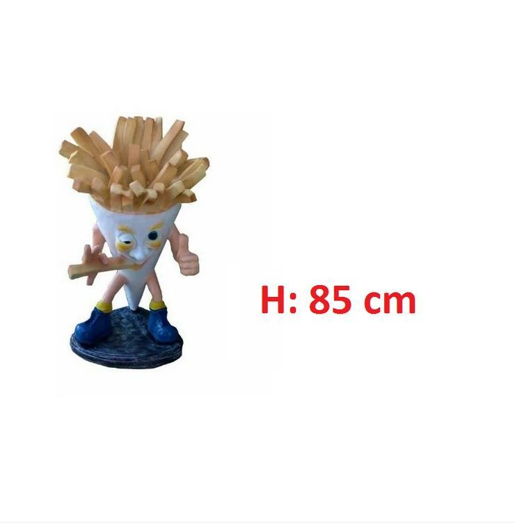 Belgische Pommes Figuren H: 85 cm Neu Premium