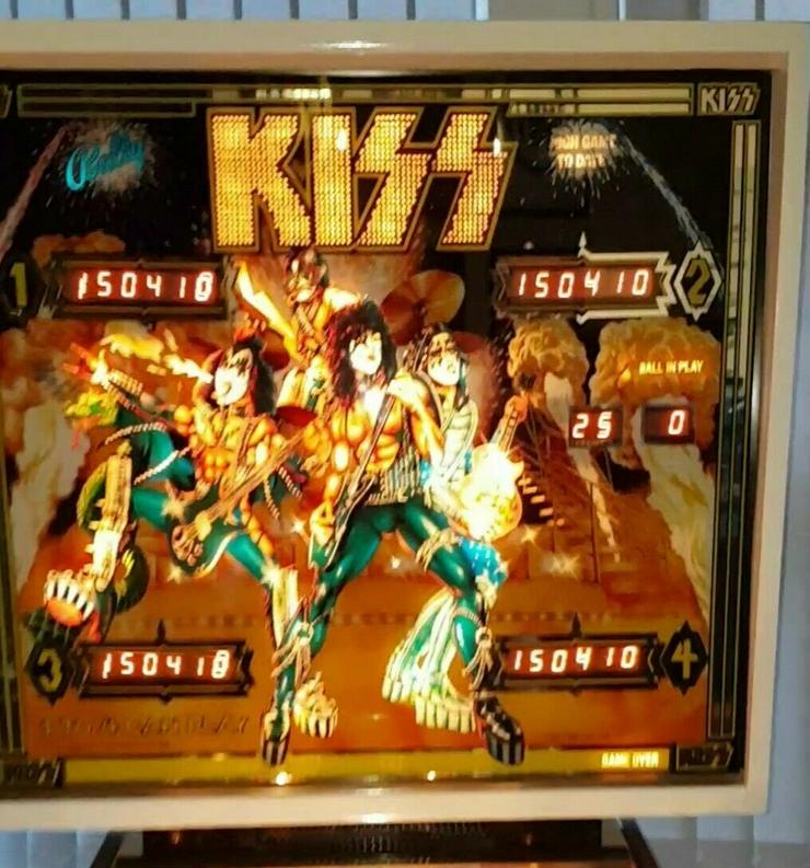 Bild 3: KISS Flipper Bally Rarität 1979 Super Zustand