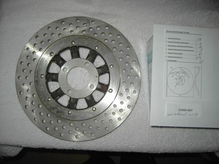 Kawasaki- Bremsscheiben für alte Modelle