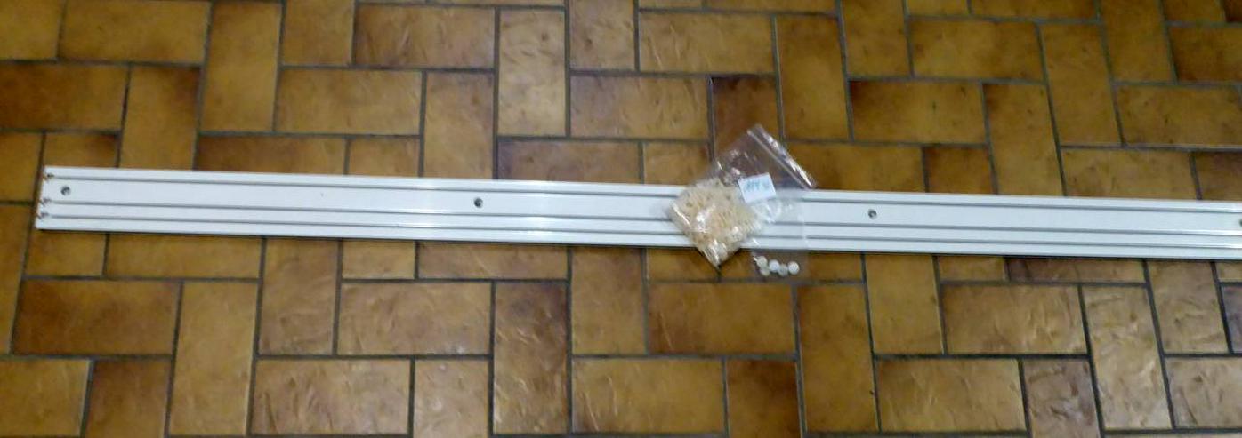 Gardinenleiste 3-läufig, 228 x 8,5 cm