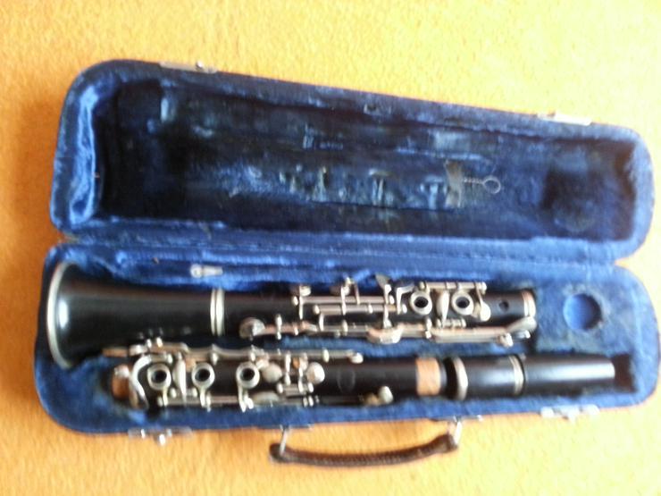 B Klarinette Rud. Gottsmann Wohlhausen mit Koffer - Blasinstrumente - Bild 1