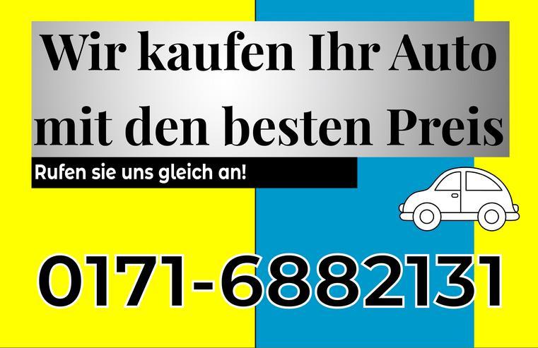 Wir Kaufen Ihr Auto mit dem Besten Preisen!
