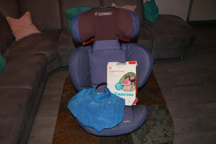 Kindersitz Maxi Cosi - mit ISOFIX  -  mit 2 Bezügen  -  99,- Euro