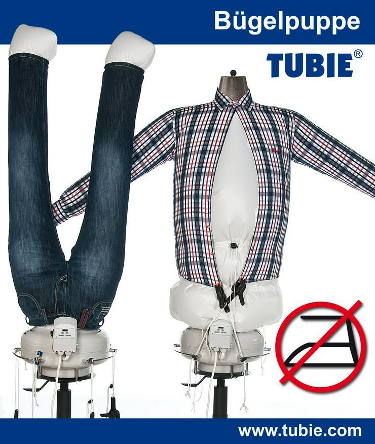 Bügelmaschine TUBIE trocknet und bügelt automatisch