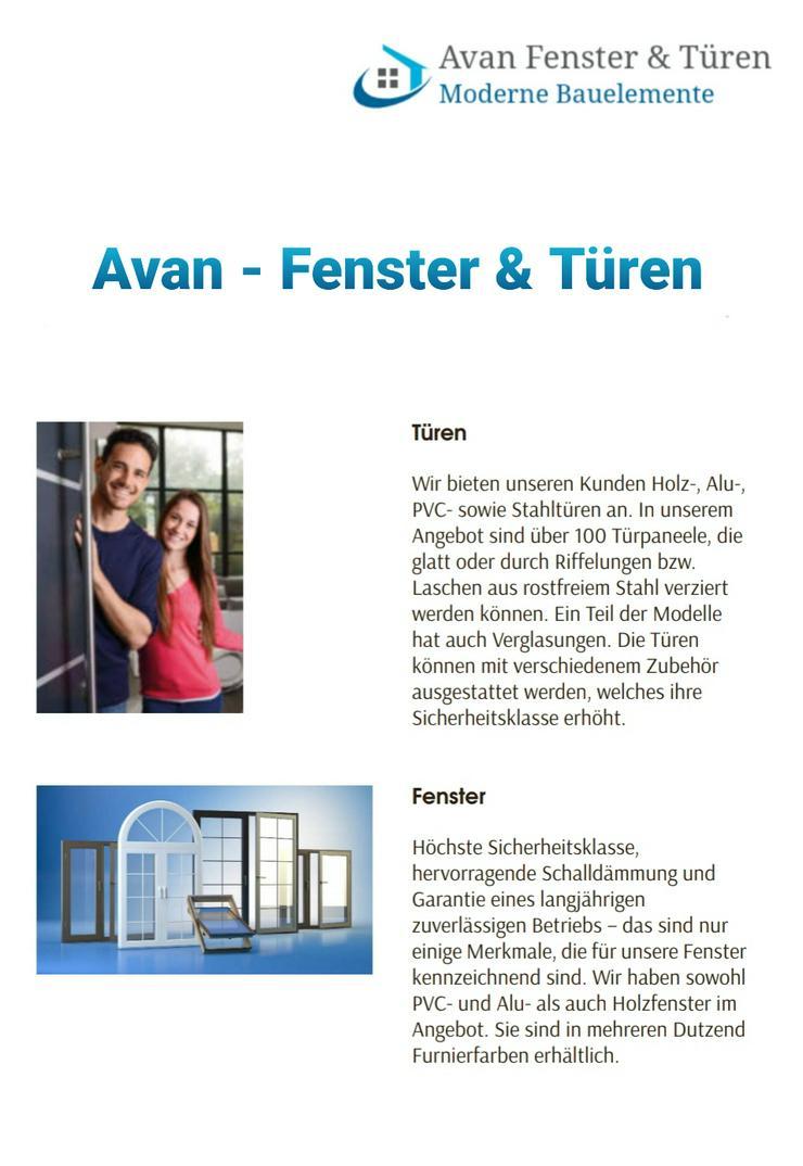 Bild 2: Verkauf von Fenster und Türen günstig vom Werk