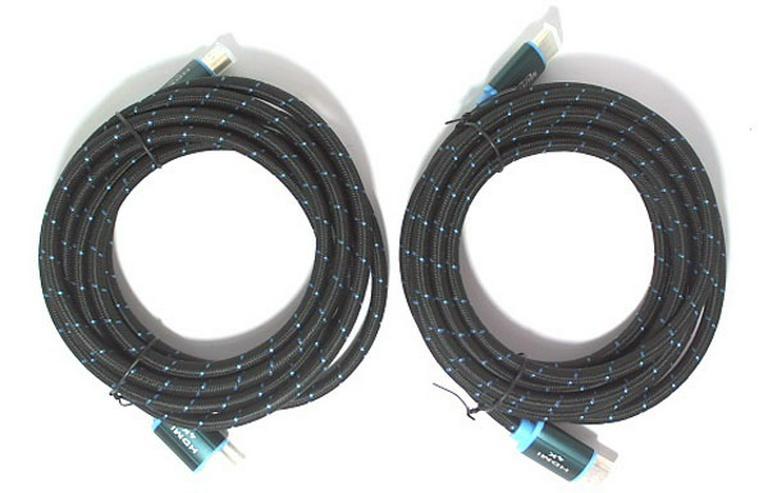 2 hochwerige HDMI-Kabel 3m - High Speed Kabel 4K Ultra HD Full HD