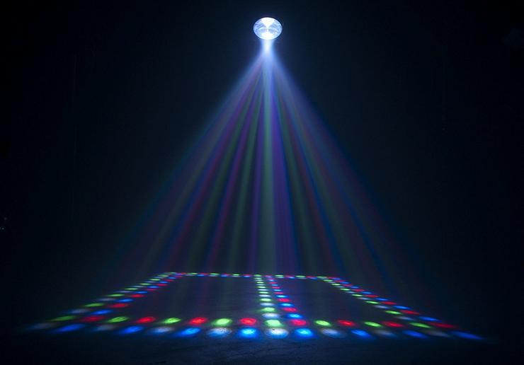 Bild 1: Verleih American DJ REVO4 Lichteffekt I Partylicht I Disco Licht