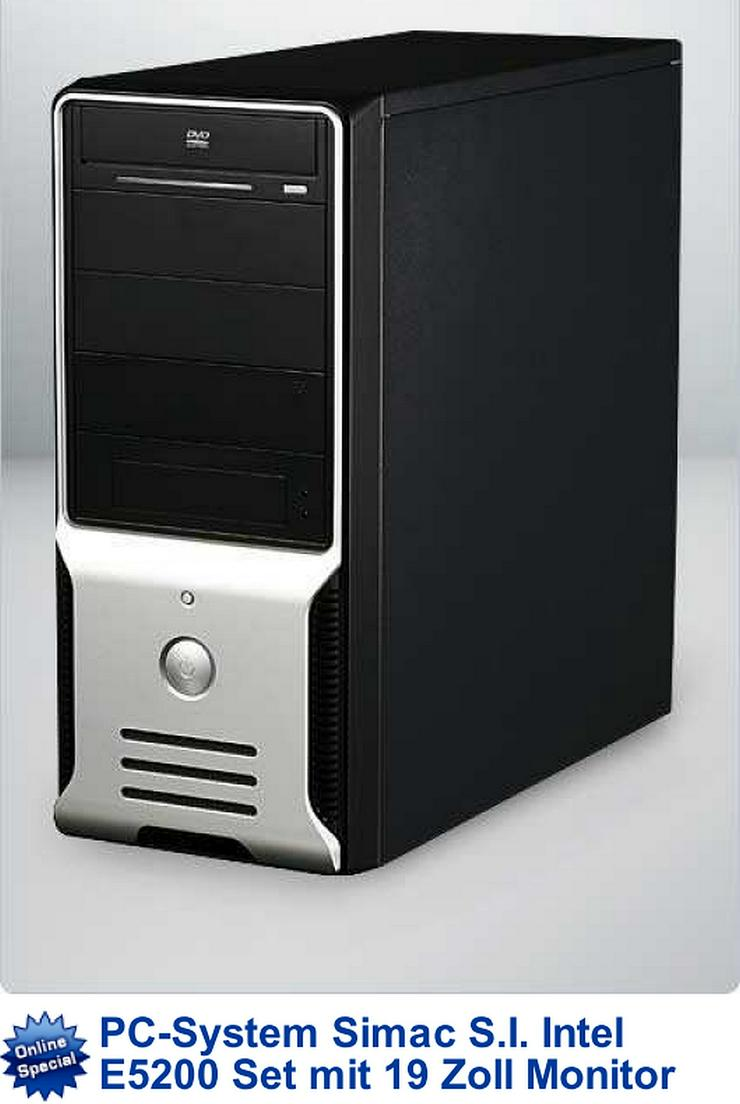 WIN 10 Pro, Komplett PC, incl. Bildschirm, neue Logitech-Tastatur und Maus - Komplettsysteme - Bild 1