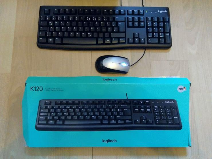 Bild 6: WIN 10 Pro, Komplett PC, incl. Bildschirm, neue Logitech-Tastatur und Maus