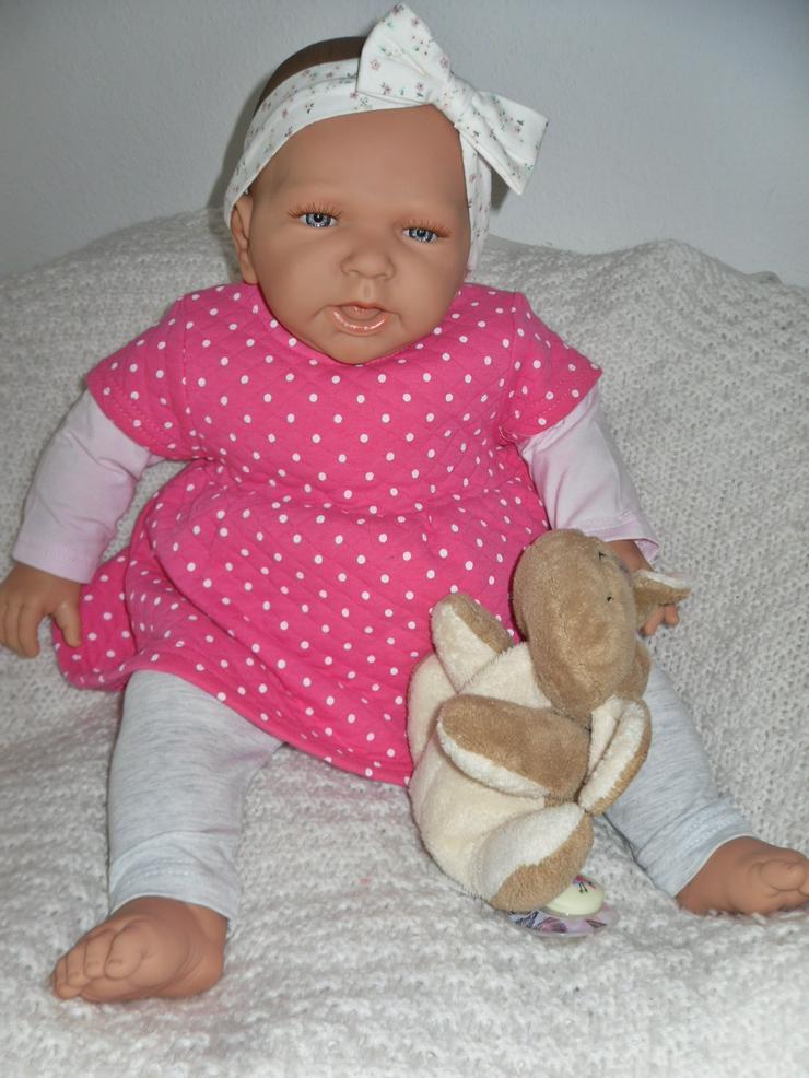 Bild 6: Doro Dolls Babypuppe Rosa 52 cm mit Schnuller Spielpuppe Baby
