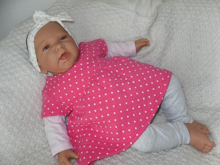 Doro Dolls Babypuppe Rosa 52 cm mit Schnuller Spielpuppe Baby  - Puppen - Bild 1