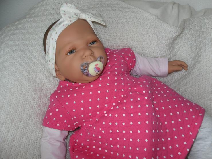 Bild 3: Doro Dolls Babypuppe Rosa 52 cm mit Schnuller Spielpuppe Baby