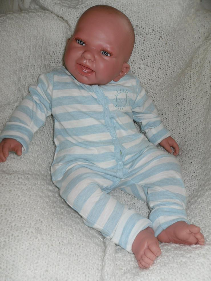 Doro Dolls Rebornbaby Maxim 52 cm Vollvinylpuppe Puppe Baby NEU - Puppen - Bild 1