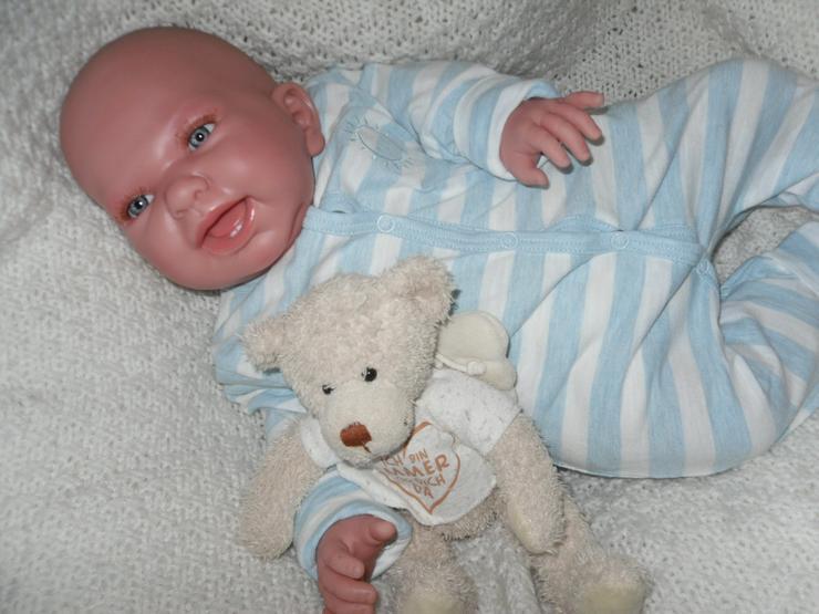 Bild 6: Doro Dolls Rebornbaby Maxim 52 cm Vollvinylpuppe Puppe Baby NEU