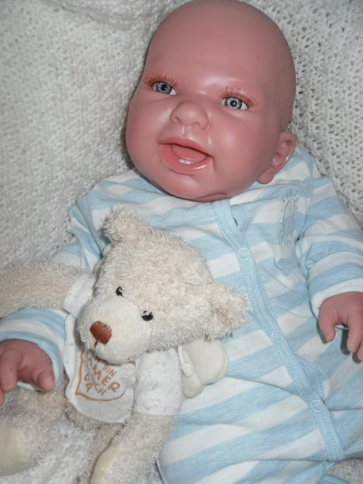 Bild 5: Doro Dolls Rebornbaby Maxim 52 cm Vollvinylpuppe Puppe Baby NEU