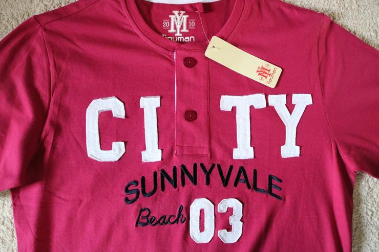 Bild 2: T-Shirt, Gr. 48/50, beere, Youman