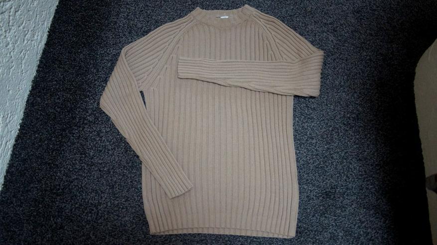 Pullover, Gr. 48/50, camel, Mans Fashion