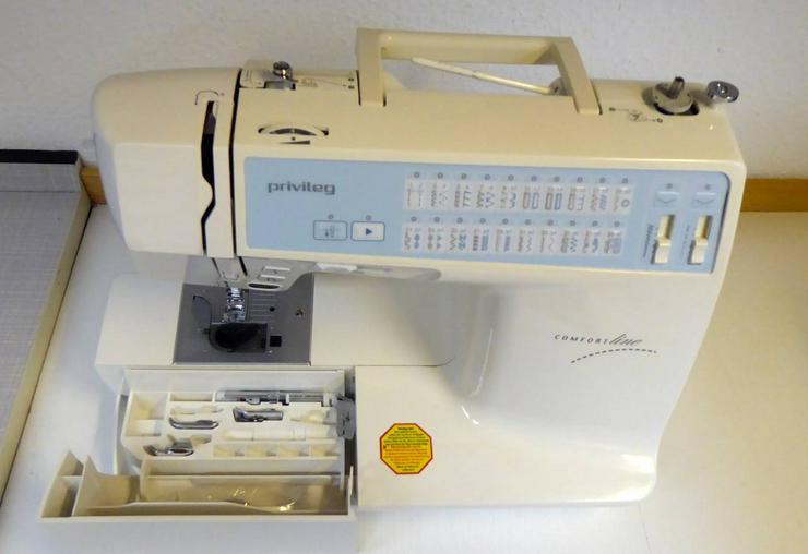 Privileg 5240 Comfort Line Nähmaschine von Fa. Quelle mit Netzkabel