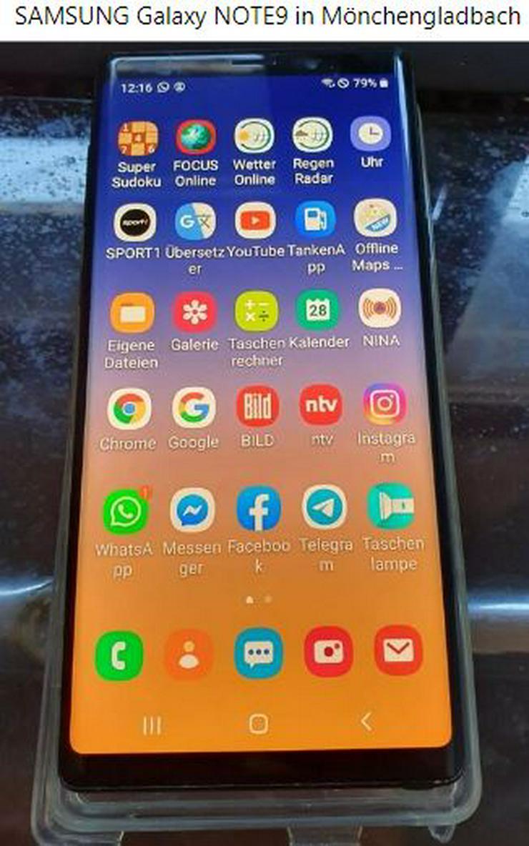 Samsung Galaxy NOTE9 - Handys & Smartphones - Bild 1