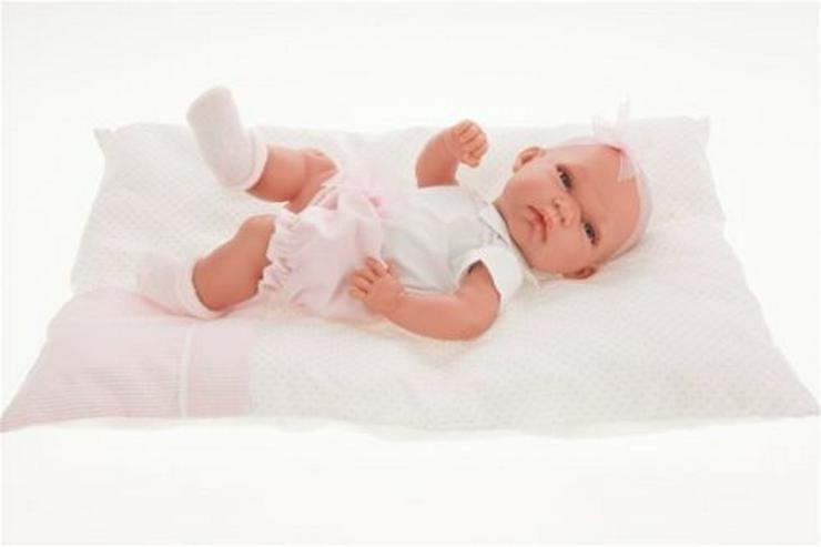 Antonio Juan Babypuppe Toneta Cojin 33 cm Vollvinyl Babypuppen Baby - Puppen - Bild 1