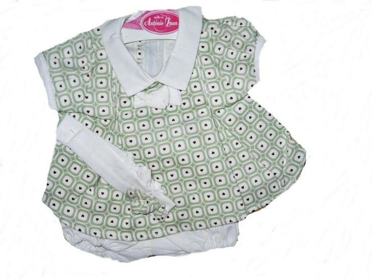 Antonio Juan Puppenkleidung Gr 42 Reborn Spielanzug Babypuppen Neu - Puppen - Bild 1