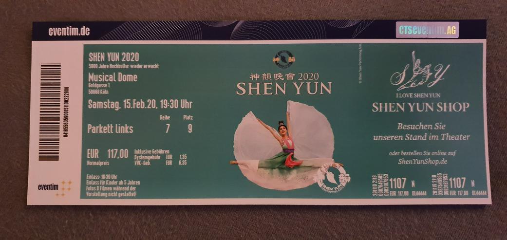 Karte für Shen Yun in Köln am 15.02.20 um 19:30 (Kategorie 1)