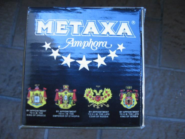 Bild 5: Metaxa 7 Sterne, Amphore, Lagerung aus den 70er Jahren, ca. 53 Jahre alt