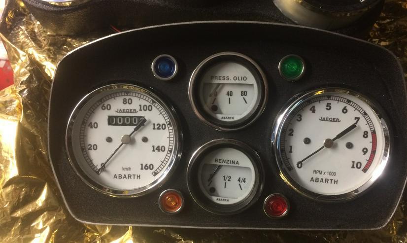 cockpit abarth 595 modL