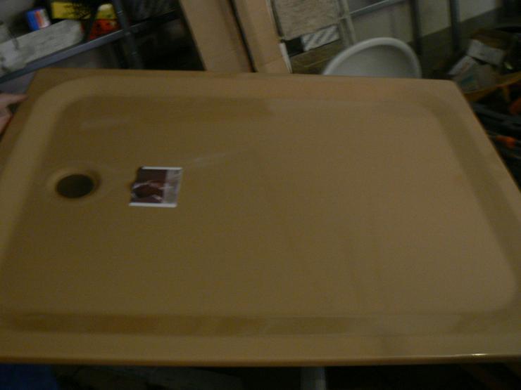 Bette Duschwanne 100 x 130  x 3,5 cm Superflach Caramel