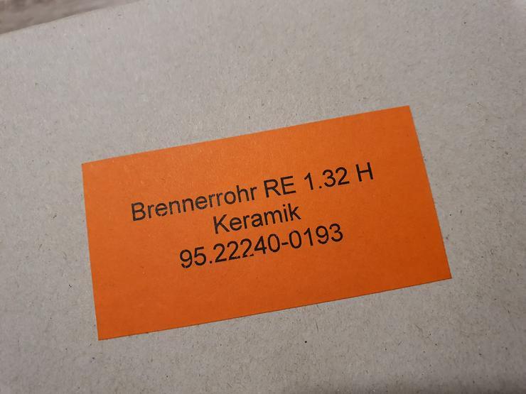 Brennerrohr RE 1.32 H Keramik