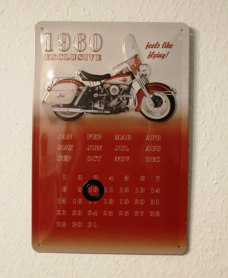 Harley Davidson ewiger Kalender