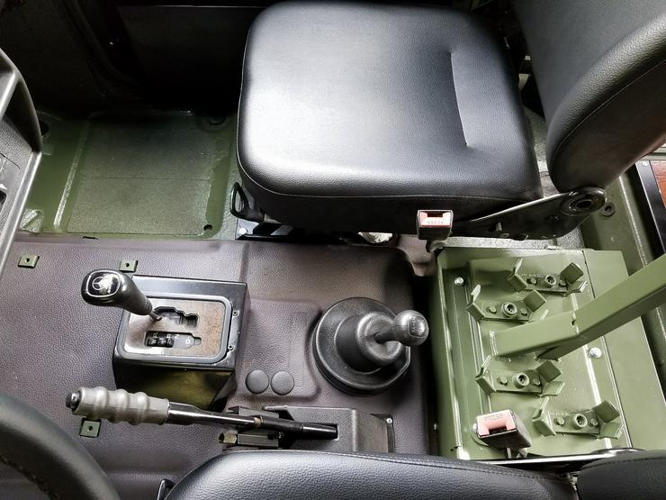 Bild 5: Mercedes G Modell Wolf 270 CDI Getriebe