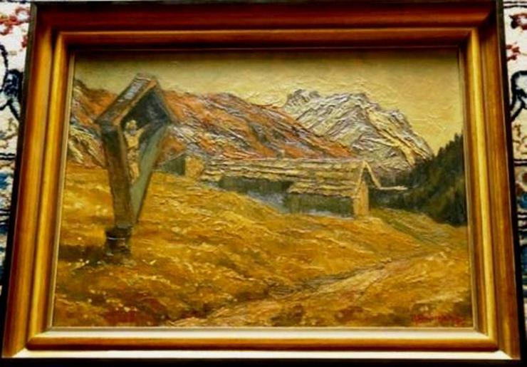 Ölgemälde Hünerkopf 1914-2000 (B008)