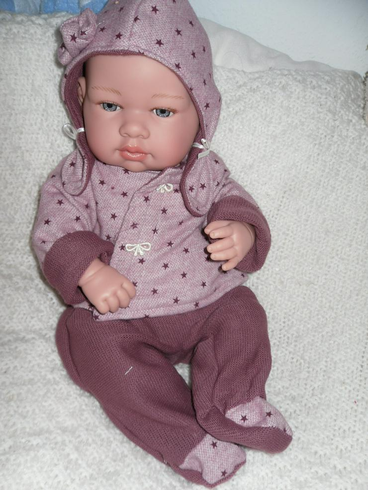 Bild 4: Arias Babypuppe Carolin 42 cm Baby Puppen Vollvinyl NEU