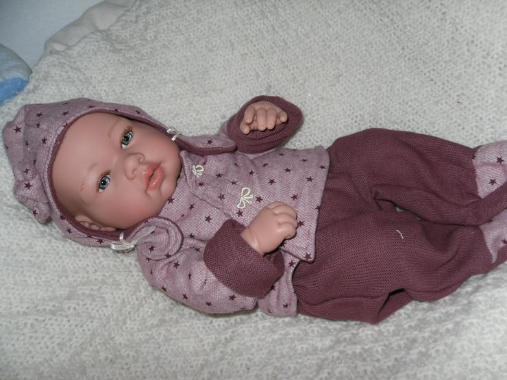 Bild 3: Arias Babypuppe Carolin 42 cm Baby Puppen Vollvinyl NEU