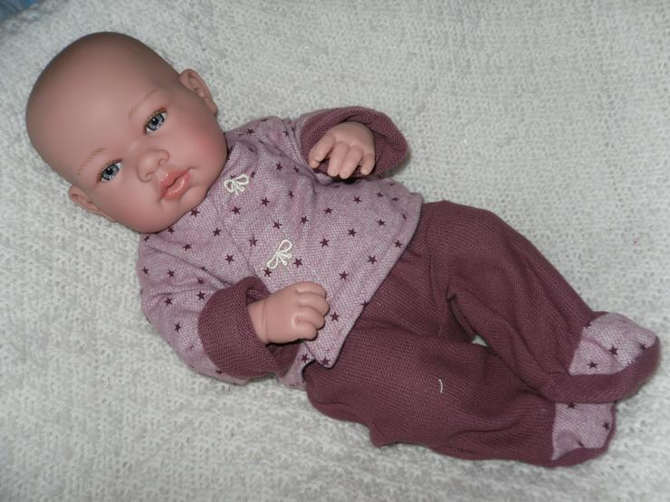 Arias Babypuppe Carolin 42 cm Baby Puppen Vollvinyl NEU - Puppen - Bild 1