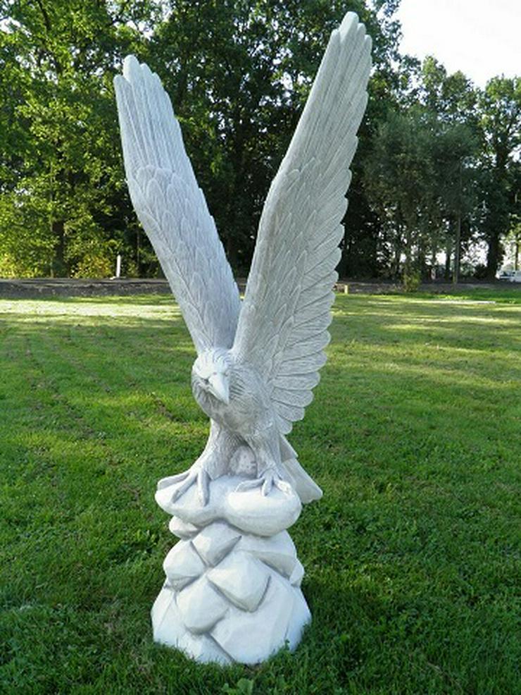 Adler Beton-Steinfigur NEU aus unseren Dekofigurenshop