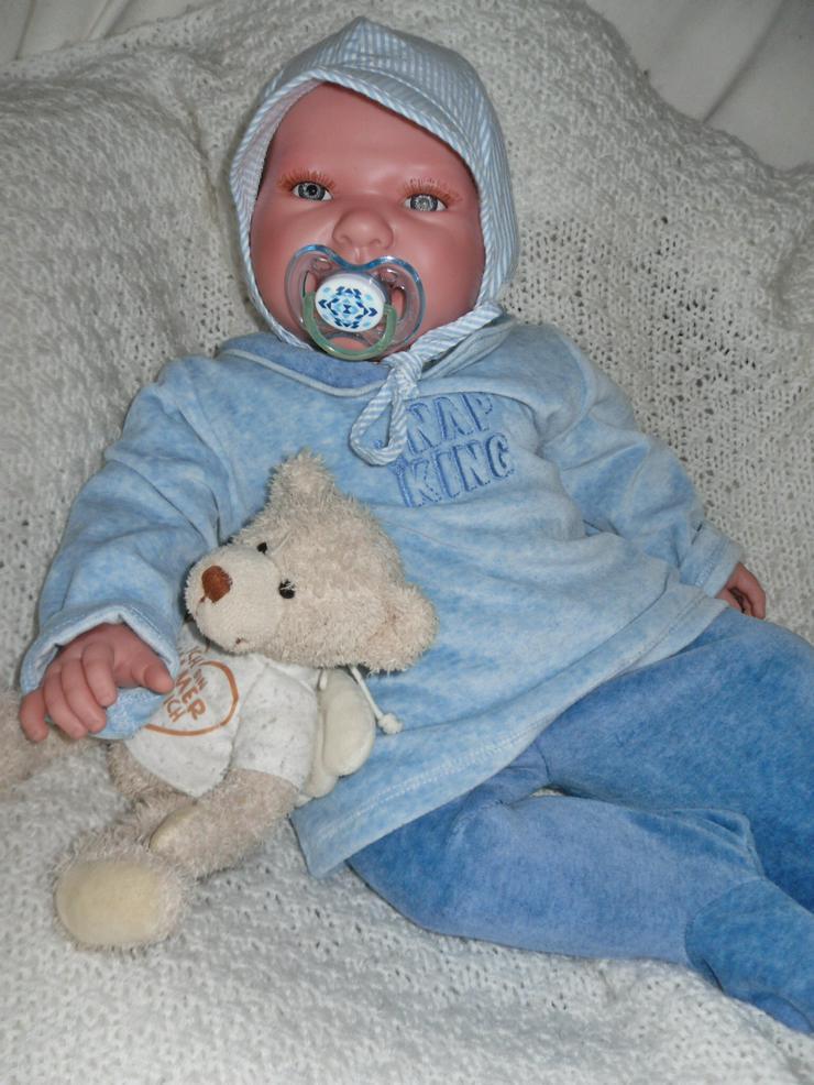 Bild 5: Doro Dolls Babypuppe Valentin 52 cm Spielpuppe Baby Puppen NEU