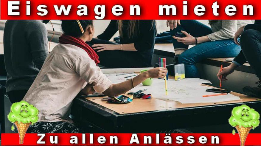MITTAGSPAUSE in Firmen, Unternehmen, Behörden. Eiswagen mieten Wuppertal Remscheid Schwelm Gevelsberg Ennepetal Schwelm Hagen - Party, Events & Messen - Bild 3