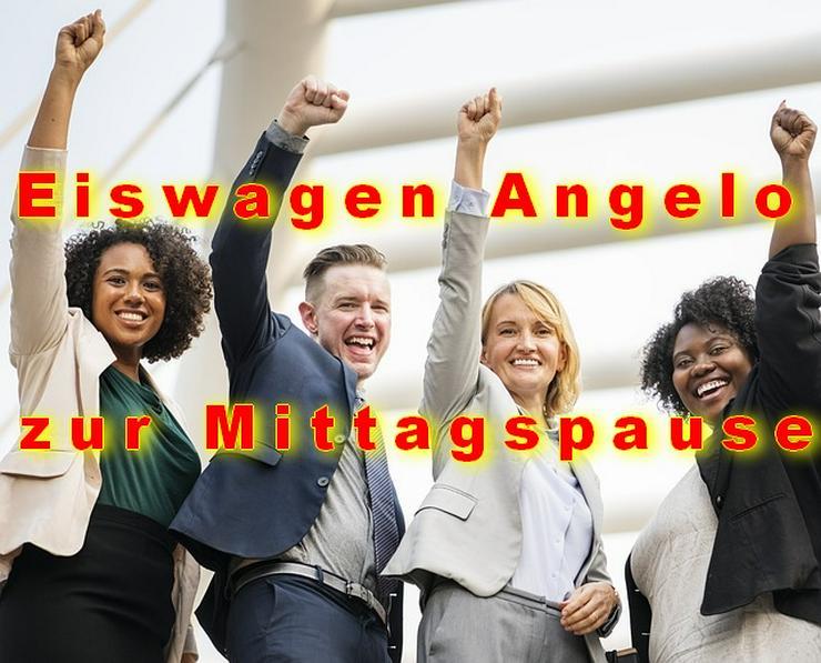 Bild 1: MITTAGSPAUSE in Firmen, Unternehmen, Behörden. Eiswagen mieten Wuppertal Remscheid Schwelm Gevelsberg Ennepetal Schwelm Hagen