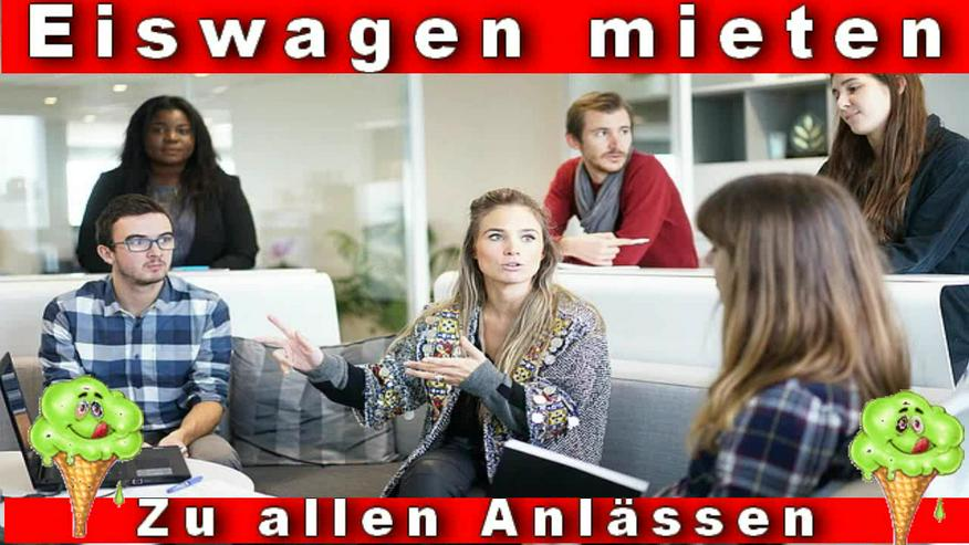 Bild 4: MITTAGSPAUSE in Firmen, Unternehmen, Behörden. Eiswagen mieten Wuppertal Remscheid Schwelm Gevelsberg Ennepetal Schwelm Hagen