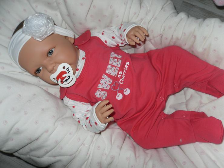 Bild 12: Doro Dolls Babypuppe Evelyn 52 cm mit Schnuller Spielpuppe Baby NEU