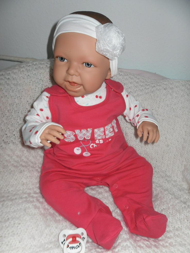 Bild 7: Doro Dolls Babypuppe Evelyn 52 cm mit Schnuller Spielpuppe Baby NEU